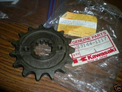 Piñon de salida Kawasaki ZX600/ZX750 - Ref. 13144-1117