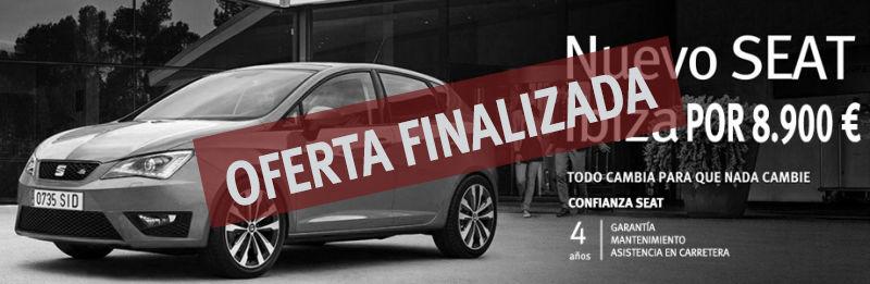 Nuevo SEAT Ibiza por 8.900€