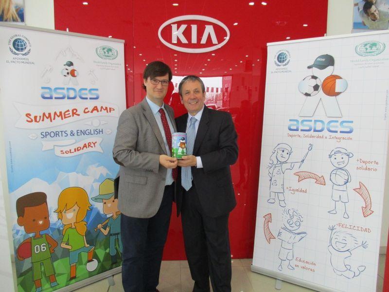 Kia AutoSaluba se convierte en socio de ASDES, la Asociación para el Deporte Solidario.