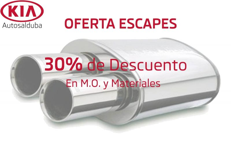Oferta tubos de escape