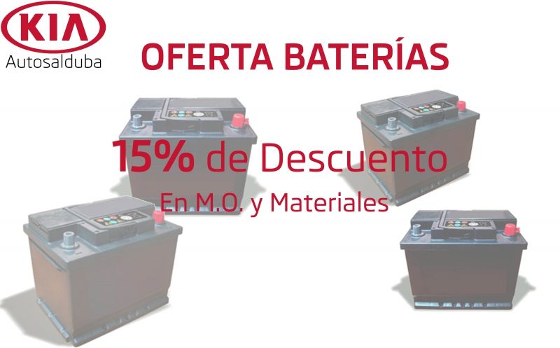 Oferta baterías