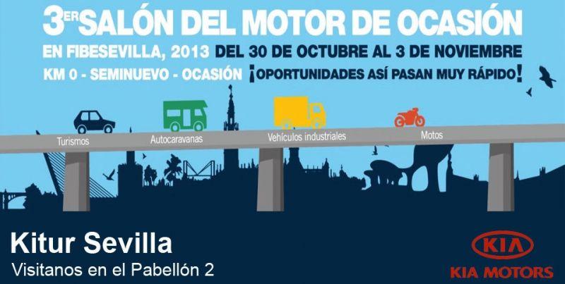 Kitur Sevilla en el 3er Salón del Automovil de Ocasión