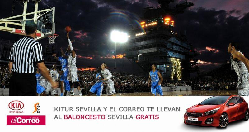 ¡Sorteamos entradas al Baloncesto Sevilla!