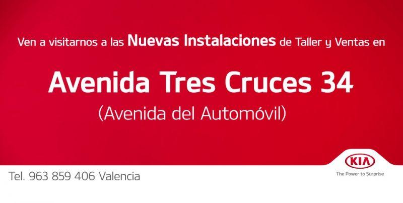 NUEVAS INSTALACIONES EN AVENIDA TRES CRUCES 34 (AV. DEL AUTOMÓVIL)