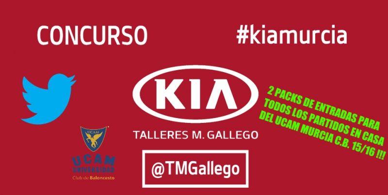 Concurso bienvenida Twitter #kiamurcia