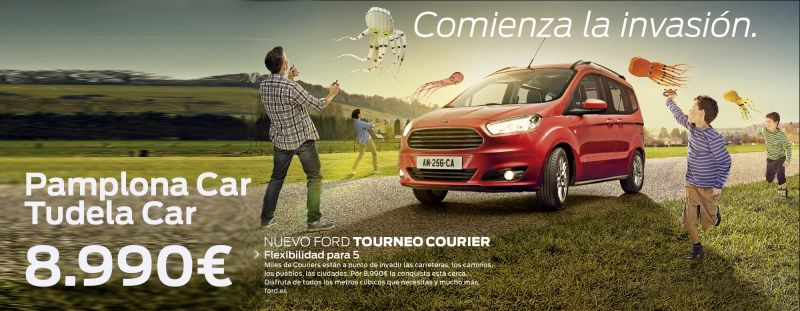 NUEVO FORD TOURNEO COURIER por 8.990€ en Ford Pamplona Car