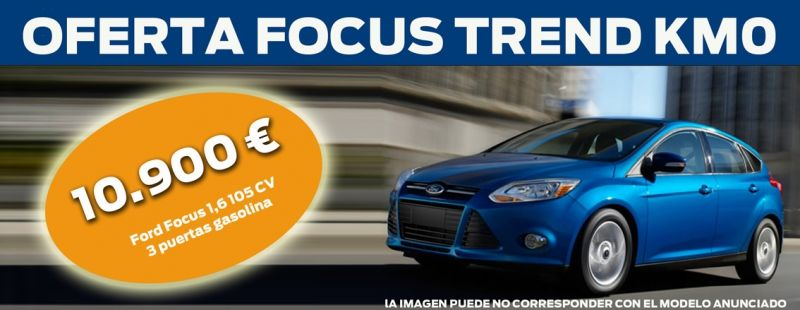 Ford Focus desde 10.900€