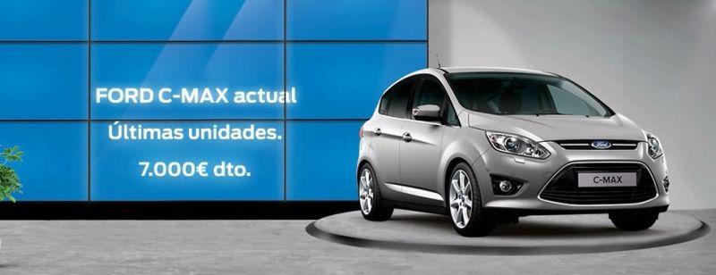 ÚLTIMAS UNIDADES DEL FORD C-MAX ACTUAL CON 7.000€ DE DESCUENTO