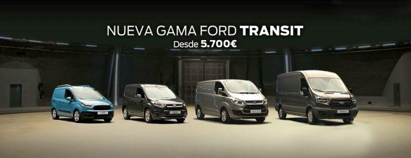 NUEVA GAMA FORD TRANSIT desde 5.700 €
