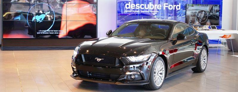 El Nuevo Ford Mustang ya esta a la venta en Ford Store Zaragoza Car ÚNICO CONCESIONARIO FORD STORE EN ZARAGOZA