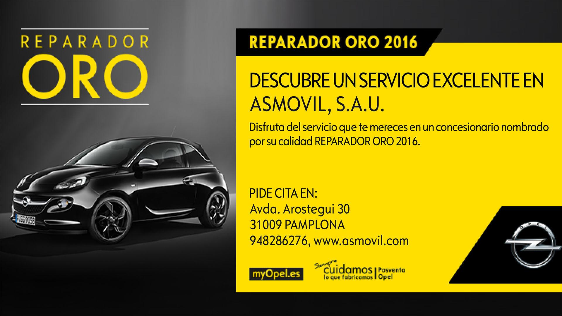 ASMÓVIL - REPARADOR ORO 2016