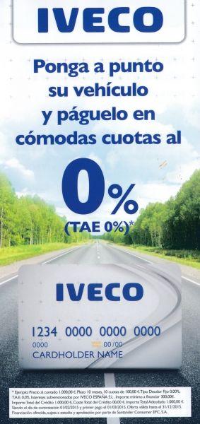 Tarjeta IVECO