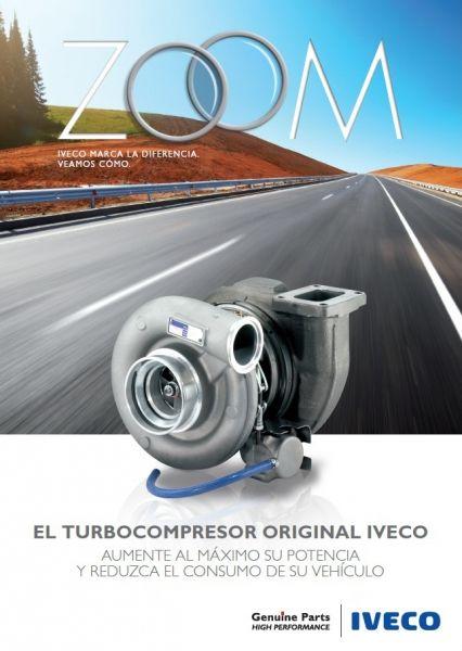 EL TURBOCOMPRESOR ORIGINAL IVECO