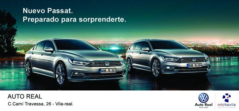 Ven a Auto Real y prueba el nuevo Volkswagen Passat