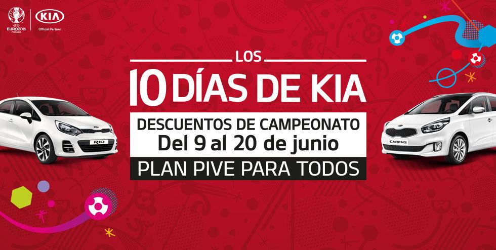"""¡APROVECHA LOS """"10 DIAS DE KIA"""" CON DESCUENTOS INSUPERABLES!"""