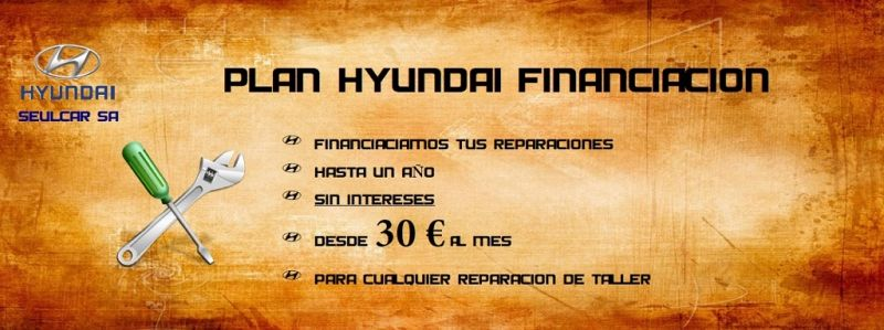 PLAN FINANCIACIÓN HYUNDAI