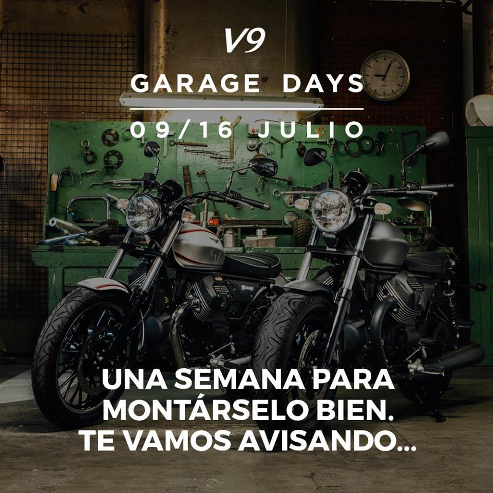 V9 GARAGE DAYS