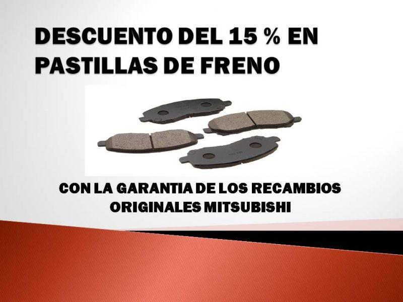 OFERTA EN JUEGOS DE PASTILLAS DE FRENO