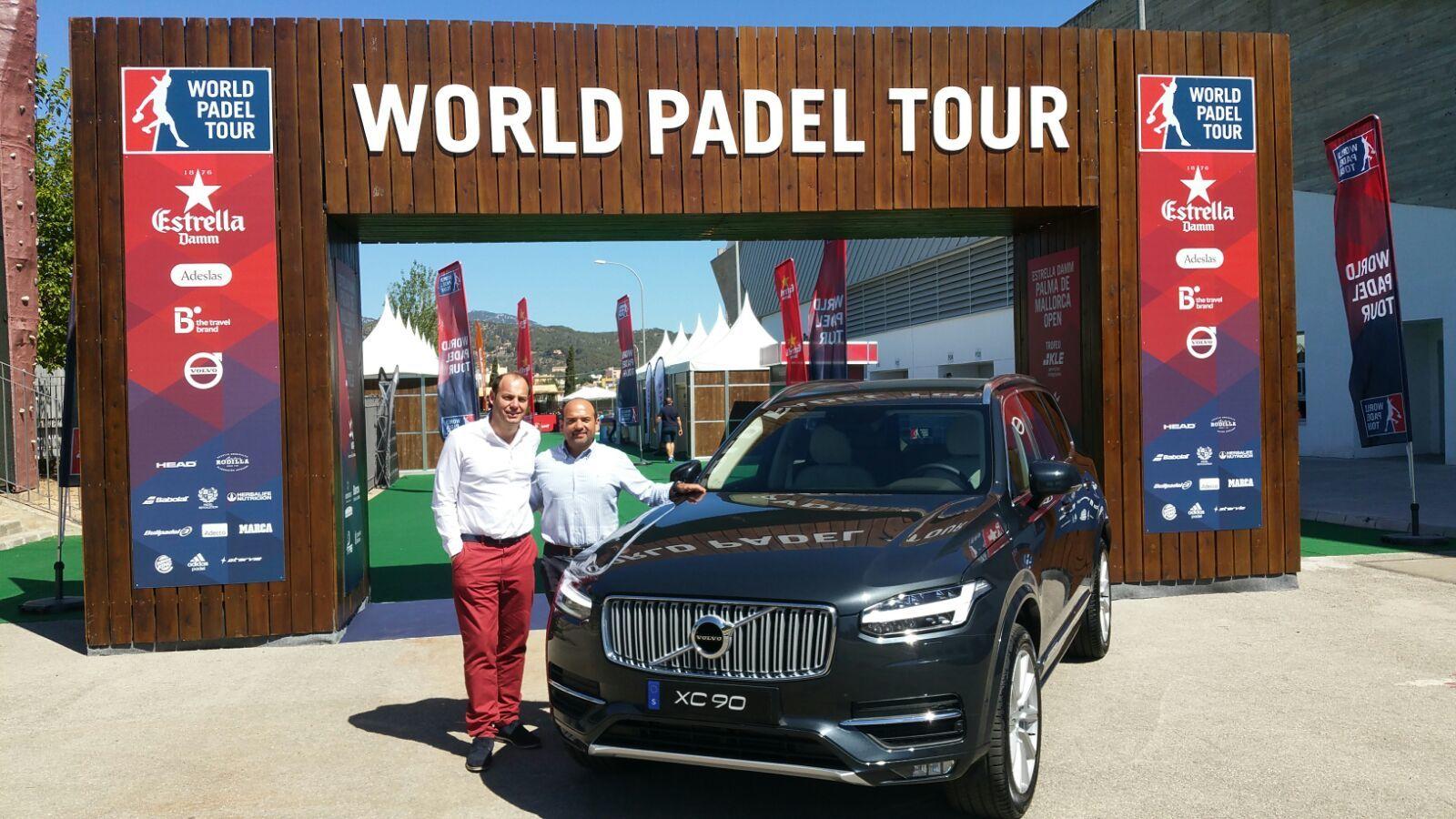 Volvo Medicars, presente en el World Padel Tour