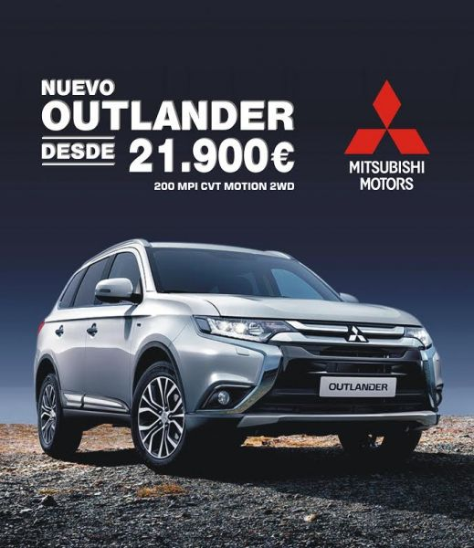 NUEVO OUTLANDER DESDE 21.900€