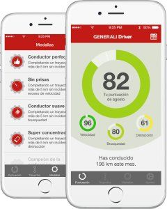 """La """"app"""" que nos evalúa al volante."""