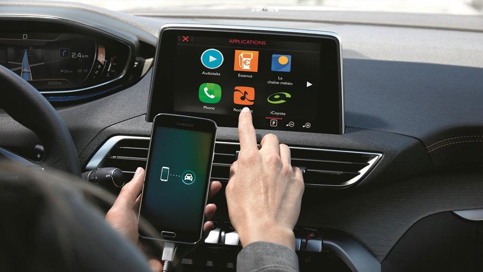 Actualización de la app de Peugeot