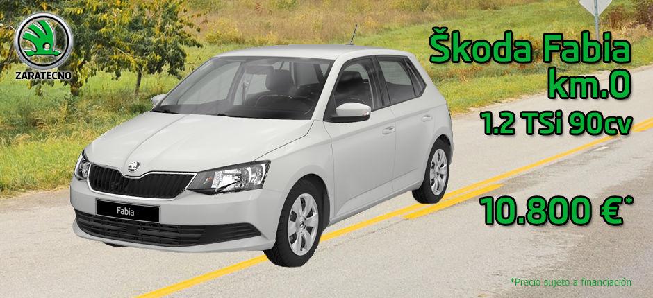 Skoda Fabia Ambition 1.2 TSI Km.0 Blanco