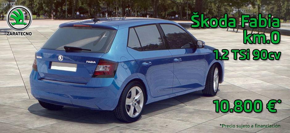 Skoda Fabia Ambition 1.2 TSI Km.0 Azul