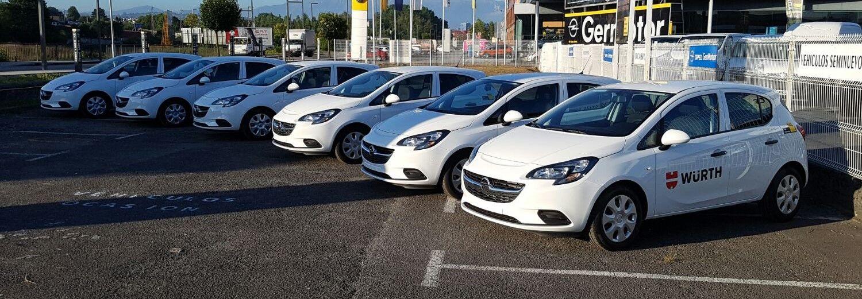 WüRTH confía en Germotor para ampliar su flota de vehículos