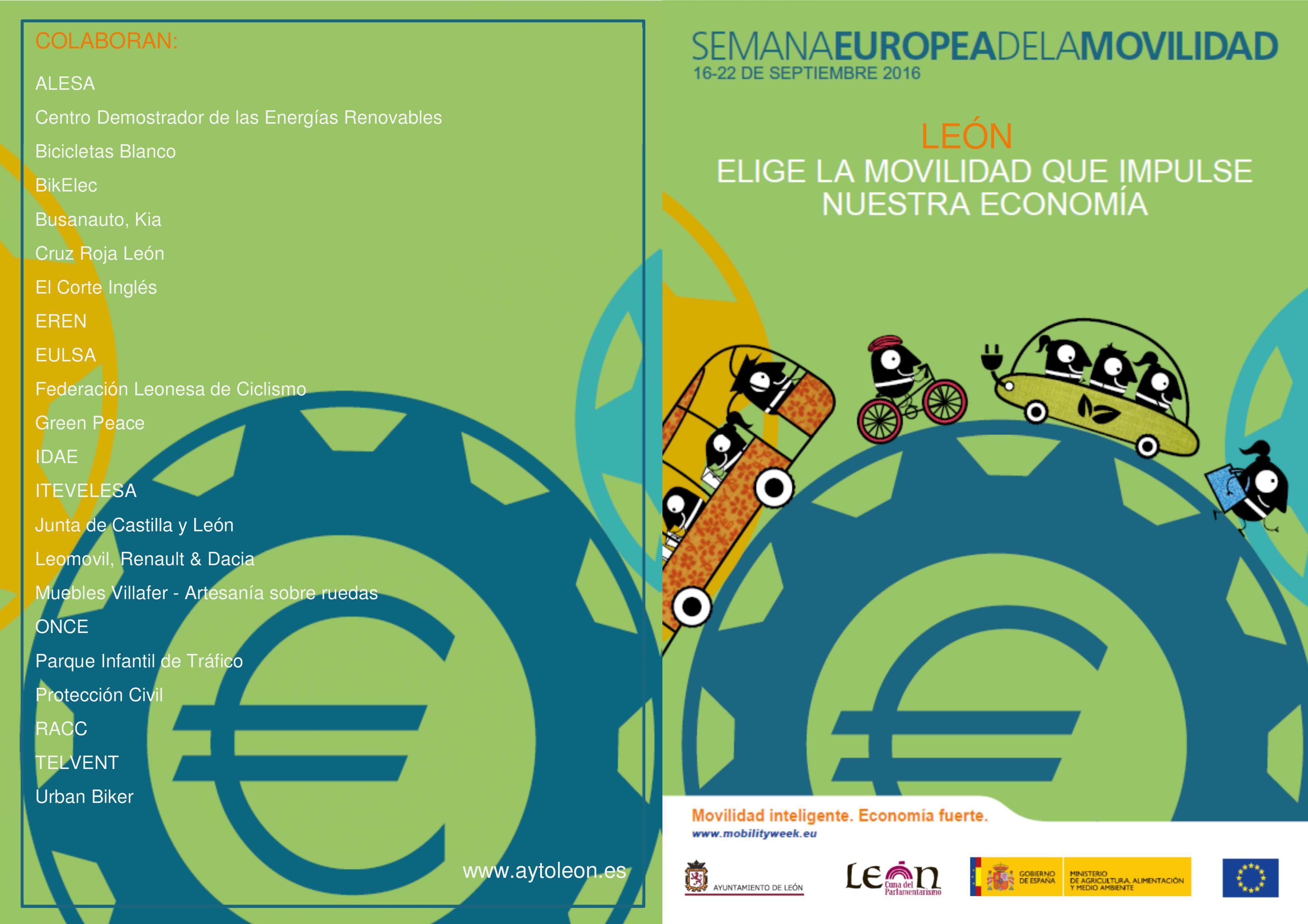 SEMANA EUROPEA DE LA MOVILIDAD 16-22