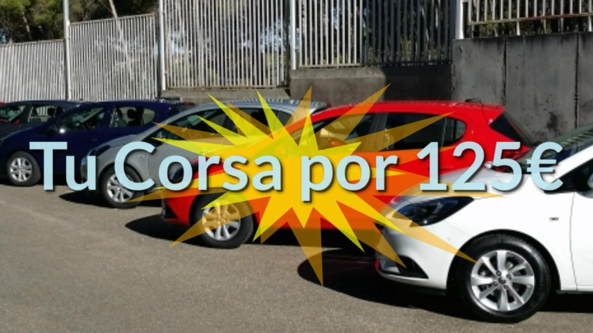PROMO CORSA 125€