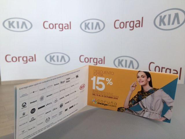 Corgal Automóviles regalará cupones de descuento de Coruña The Style Outlets