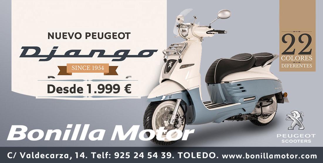 Bonilla Motor, Servicio Oficial Peugeot en Toledo