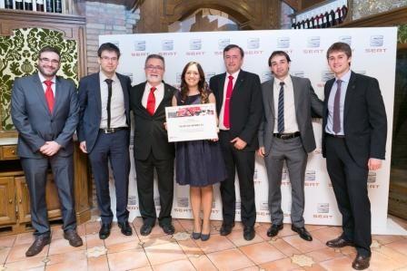 Taller Las Cantinas recibe la medalla de Oro en la competición SEATISFACTION 2016