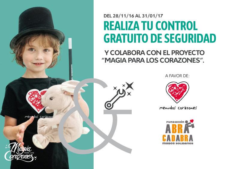 Acción solidaria Magia para los Corazones