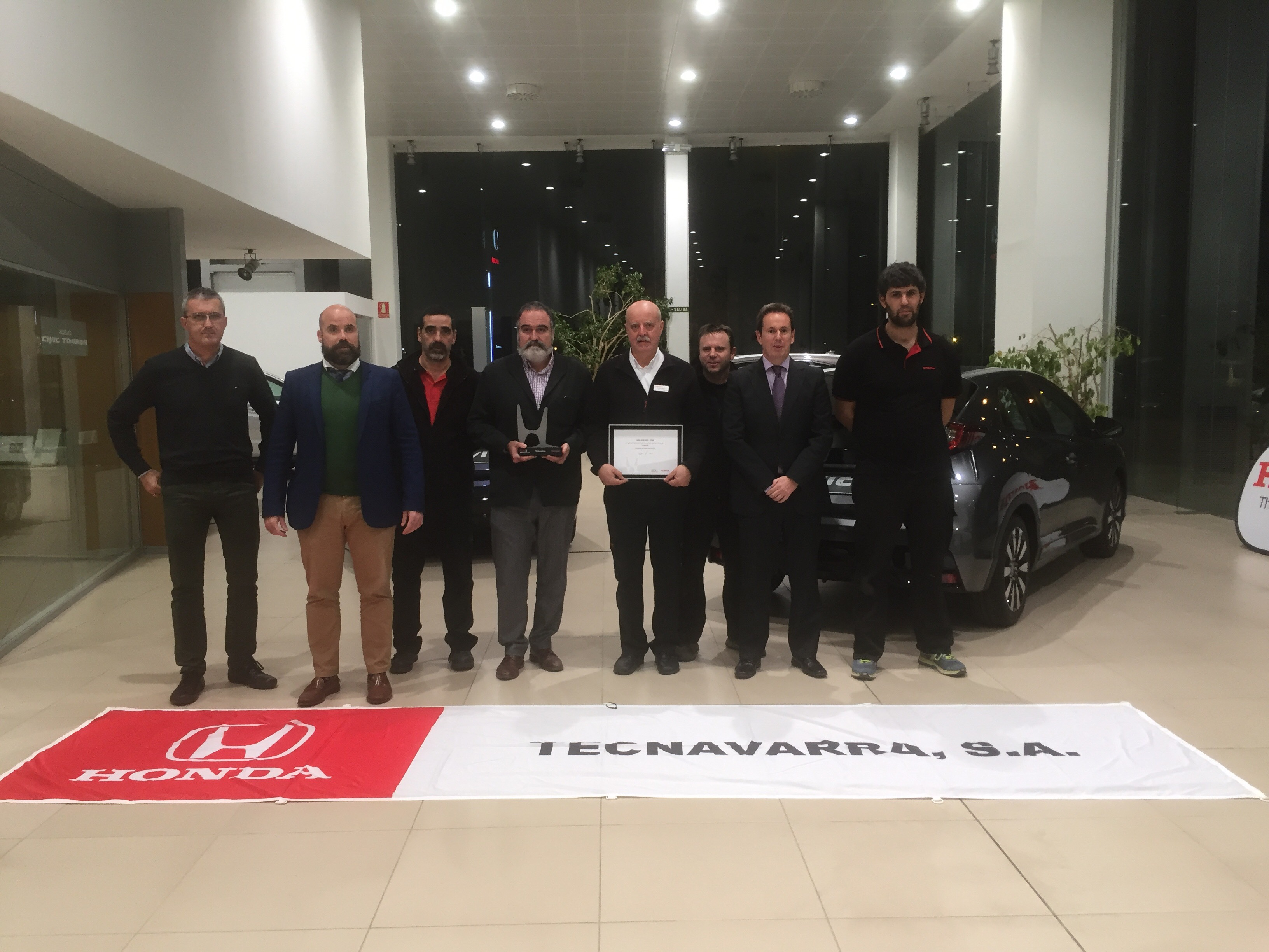TECNAVARRA recibe el Honda Executive Dealer Club 2016