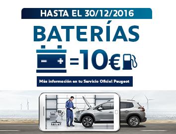 Cambia la batería de tu coche y llévate 10€ de combustible gratis!