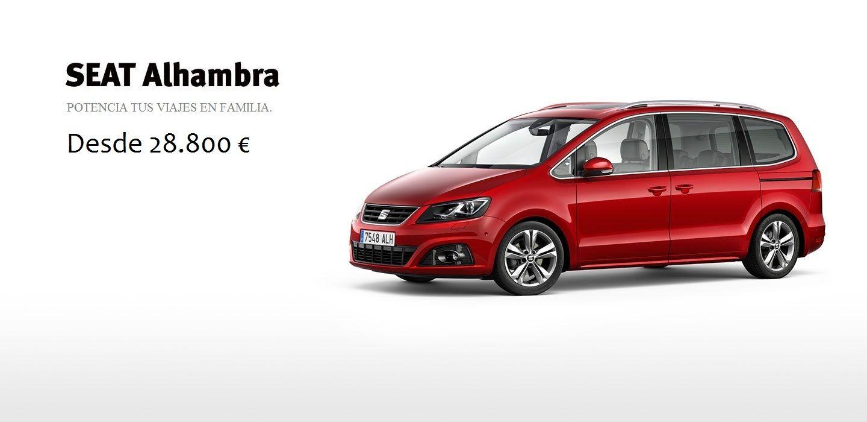 SEAT Alhambra desde 28.800 €