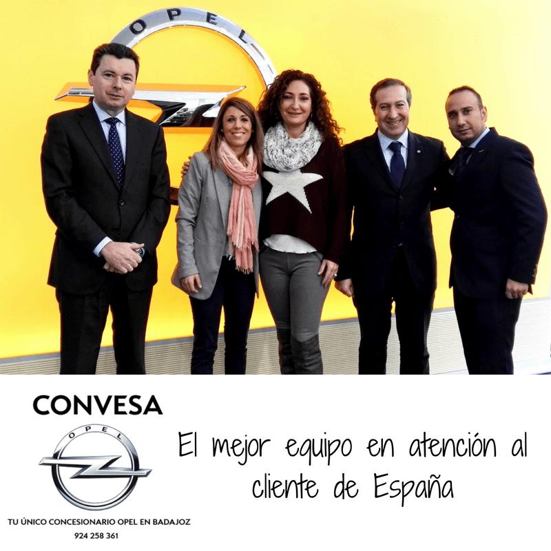 Premio al mejor equipo en atención al cliente de España
