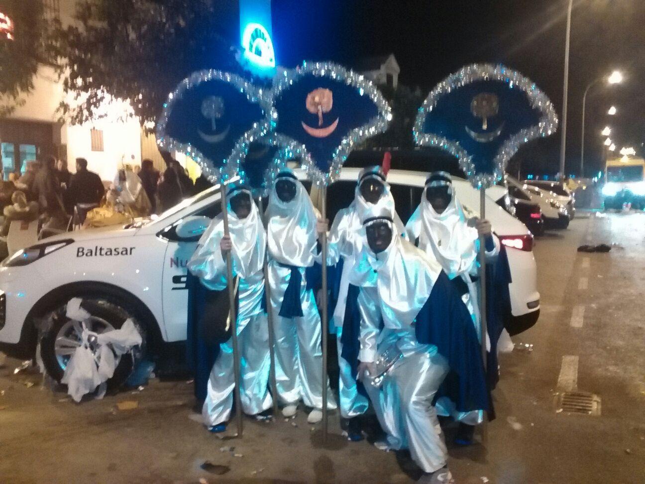 Un año más en la Cabalgata de Reyes de Triana