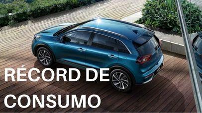 Kia Niro Hybrid consigue cifras récord de consumo en EEUU
