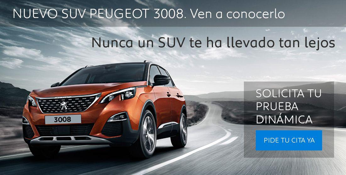 CONDICIONES ESPECIALES NUEVO SUV PEUGEOT 3008