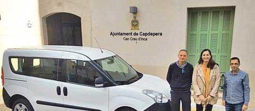 L'Ajuntament de Capdepera estrena Opel Combo