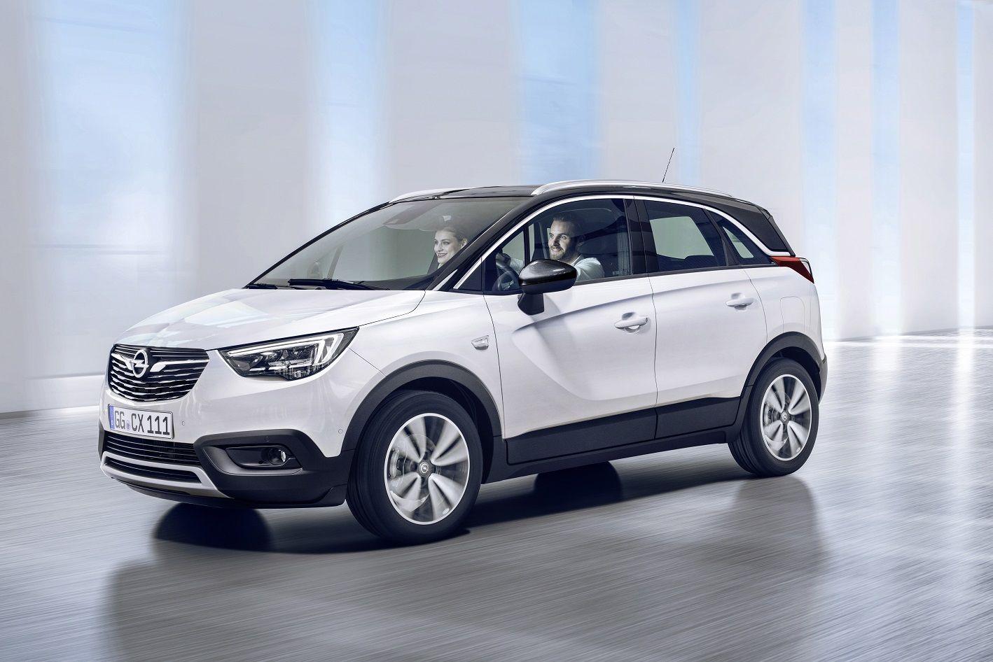 Ya tenemos las primeras imágenes del Nuevo Opel Crossland X