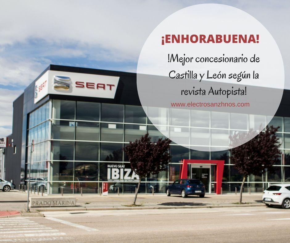 Electrosanz Hnos mejor concesionario de Castilla y León según la revista Autopista
