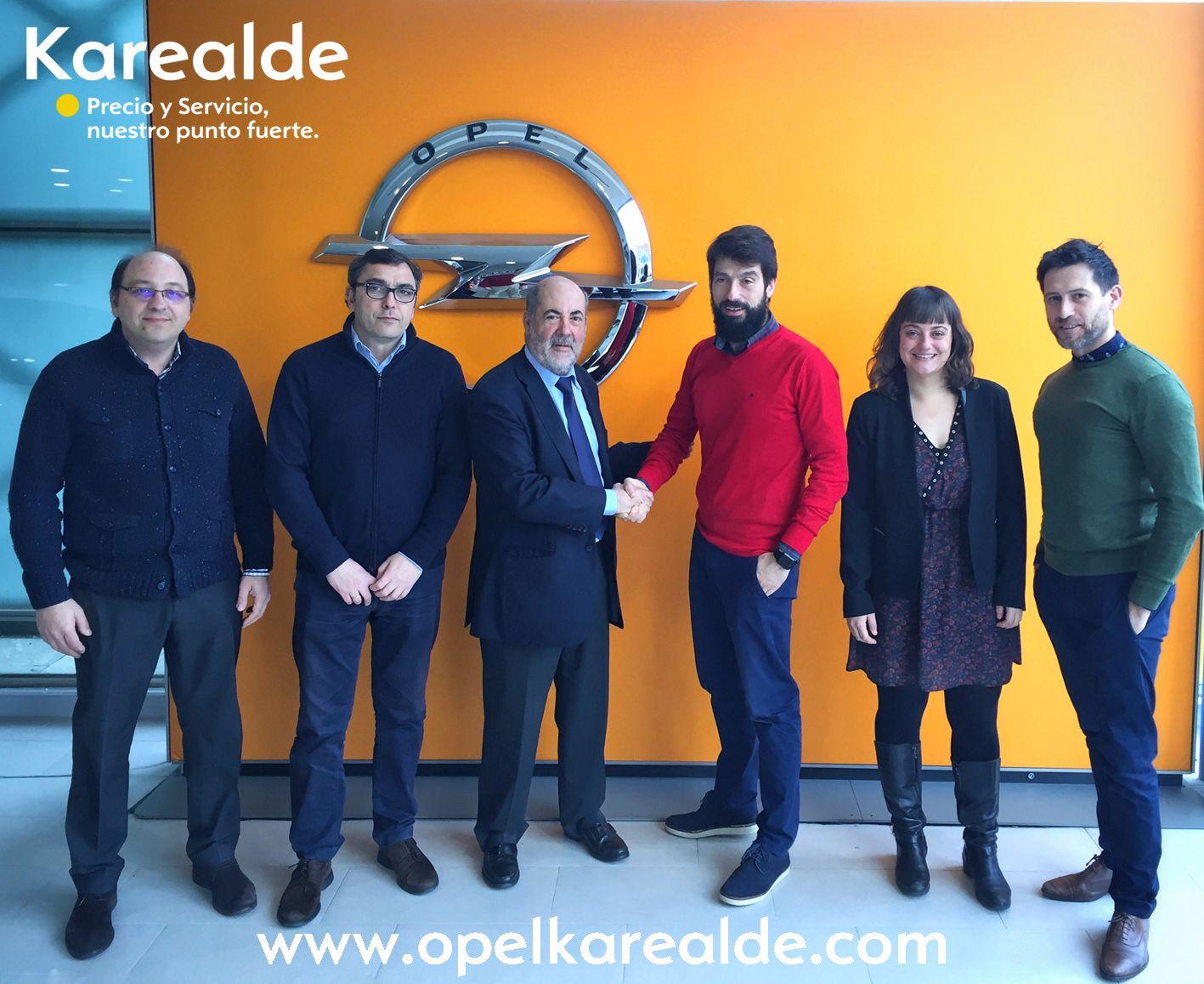 ¡Nuevo galardón para Opel Karealde!