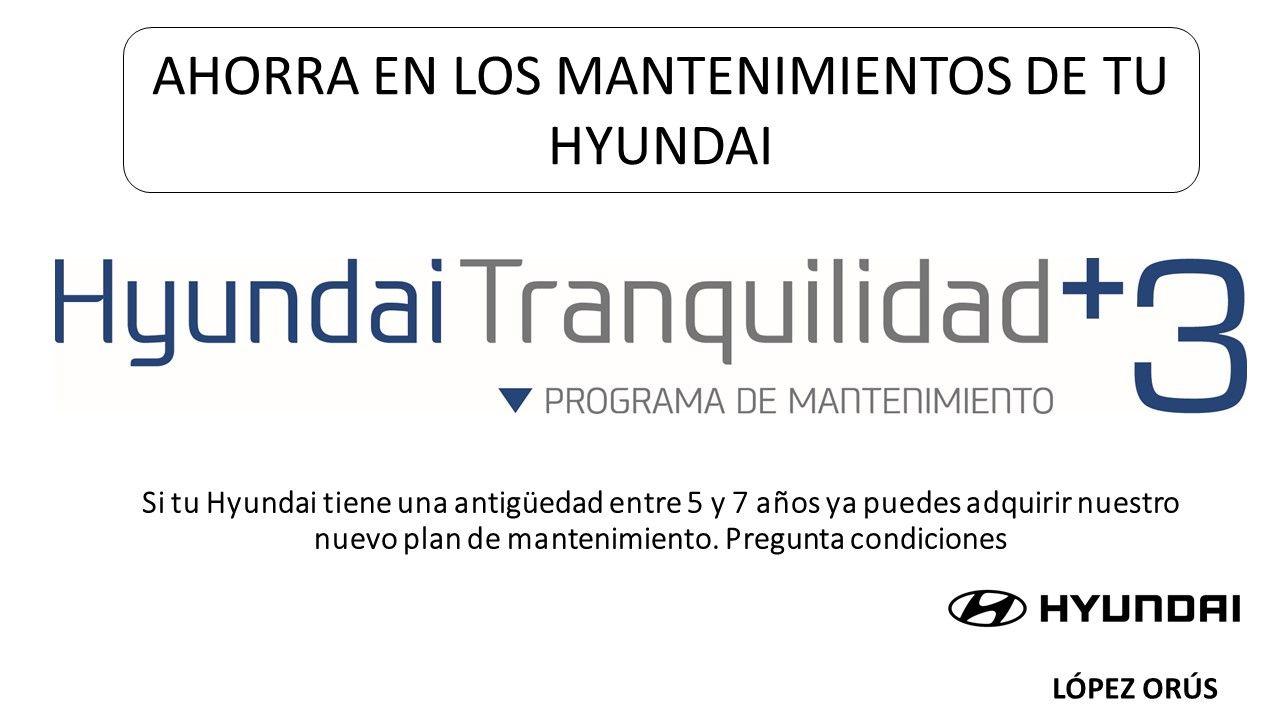 Estalvia en els manteniments de la teva Hyundai