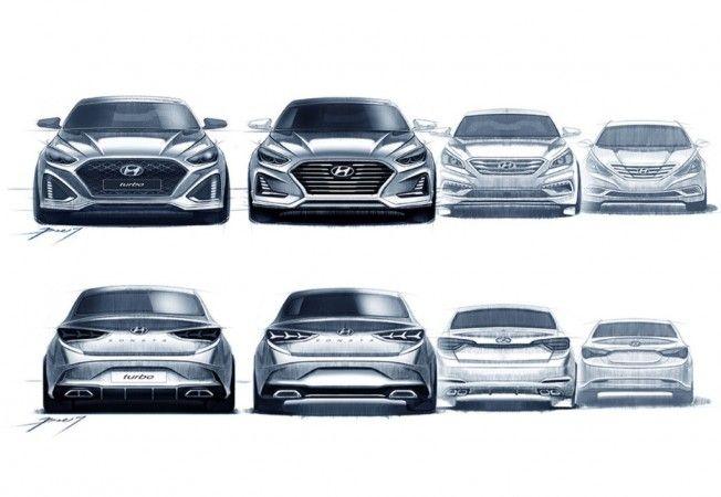 Así podría ser el restyling del Hyundai Sonata: Una maravilla sobre ruedas.