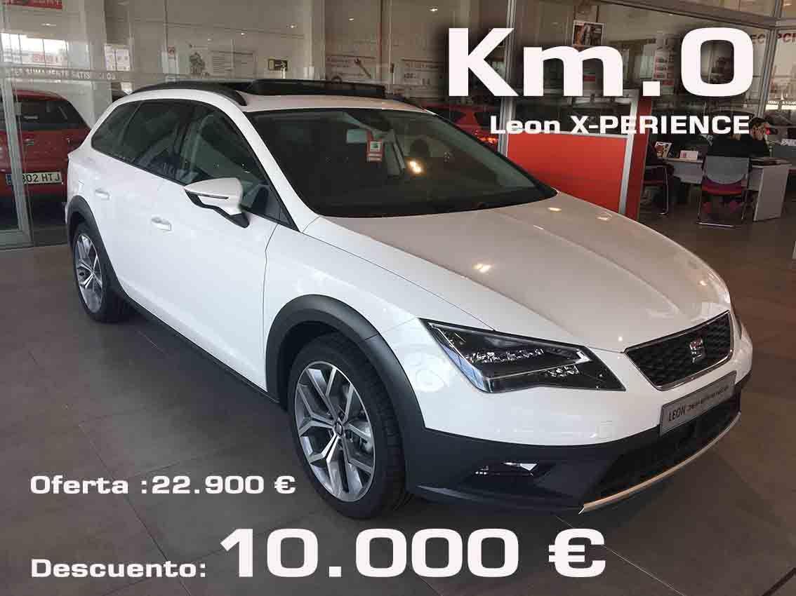 OFERTA SEAT Leon X-PERIENCE DESCUENTO 10.000€