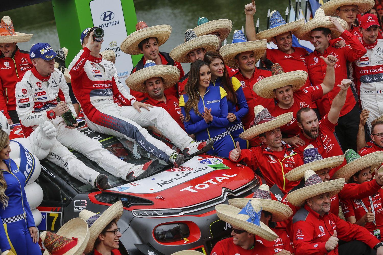 KRIS MEEKE Y PAUL NAGLE LOGRAN LA PRIMERA VICTORIA DEL CITROËN C3 WRC